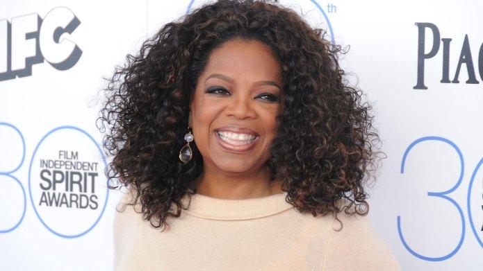 Oprah Winfred Blue Ivy God Mother