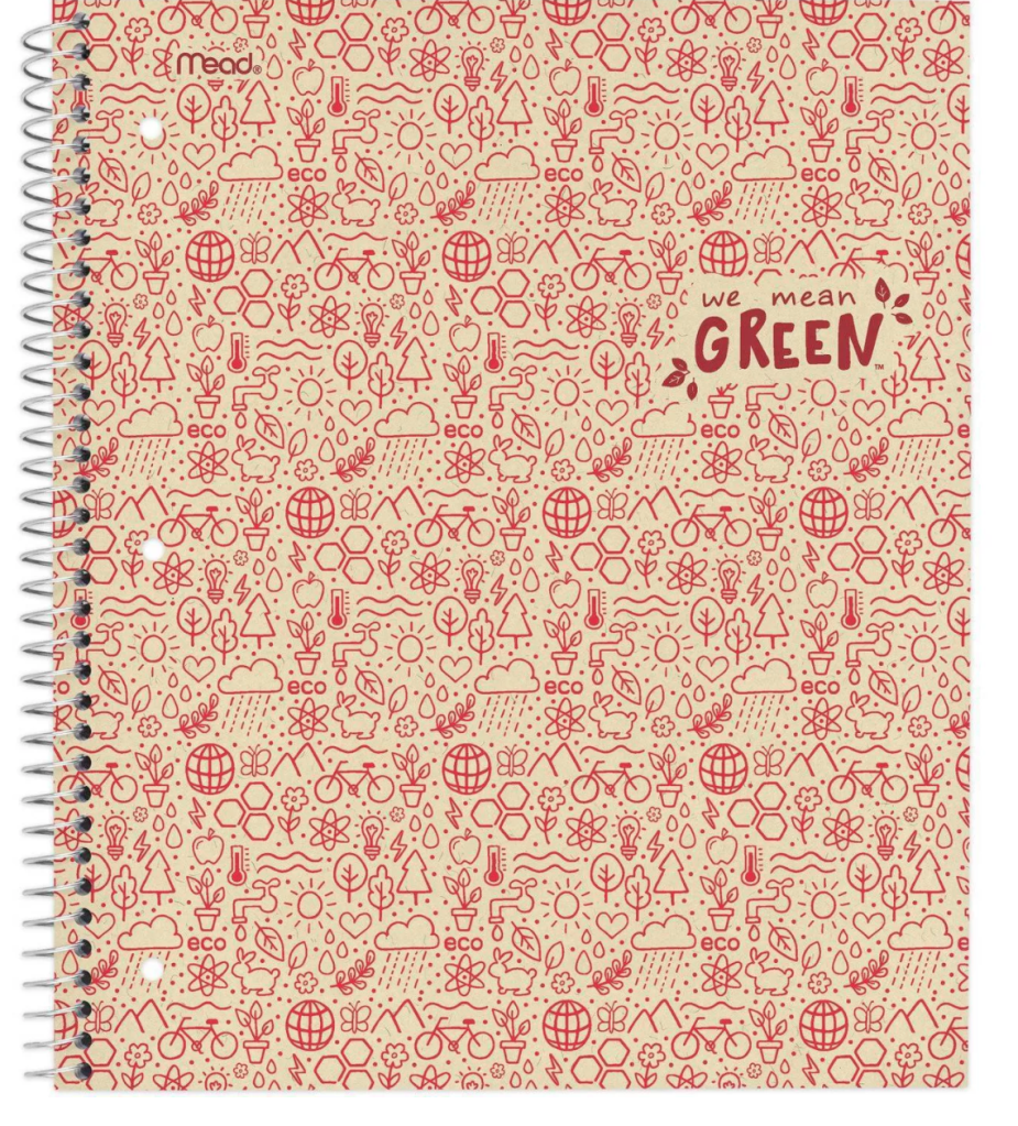 We Mean Green Notebook