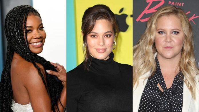 Gabrielle Union, Ashley Graham, Amy Schumer
