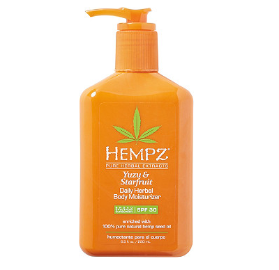 hempz daily lotion spf