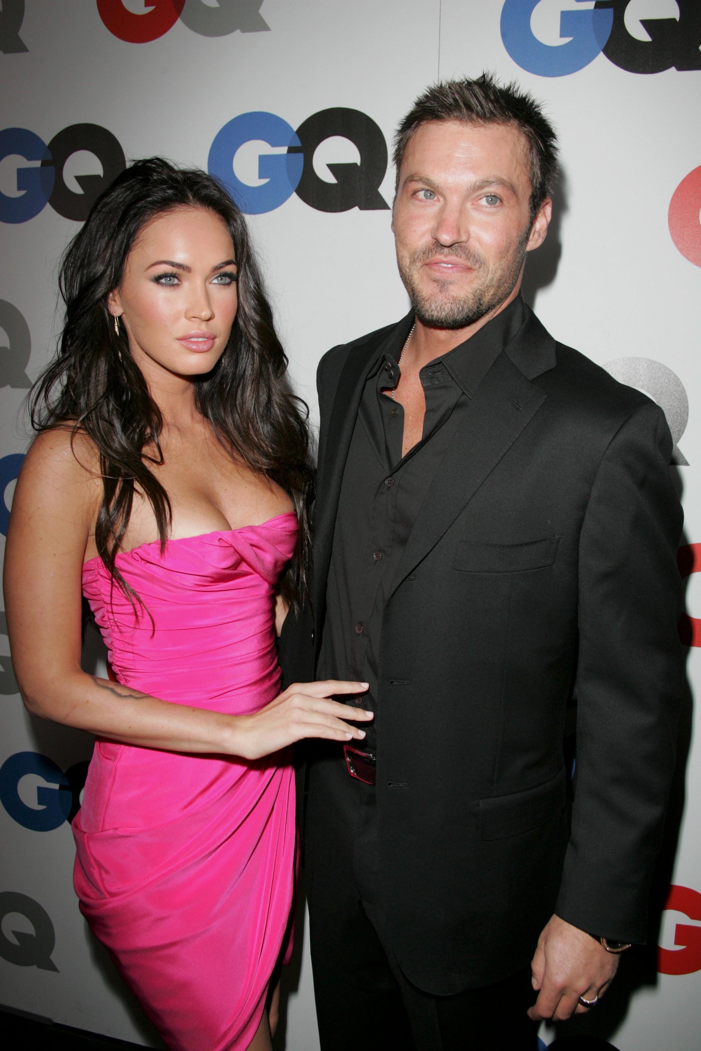 Megan Fox and Brian Austin Green GQ Men of the Year Party, Los Angeles, America - 18 Nov 2008