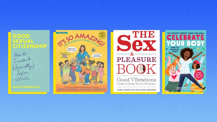 Puberty books for kids