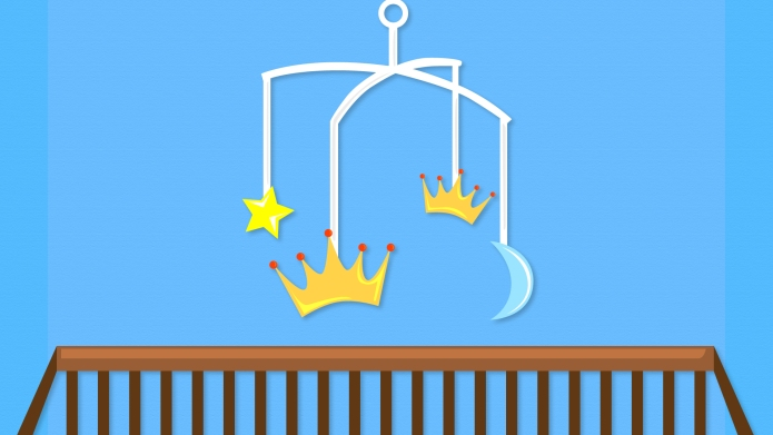 Royal Baby Names: Crib With Crown