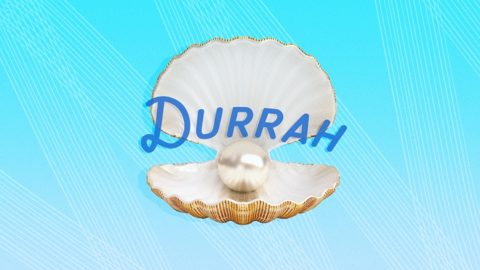 Muslim girl names: Durrah