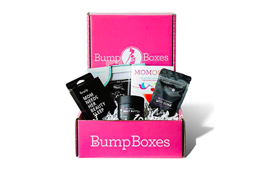 photo of bump box pregnancy subscription box