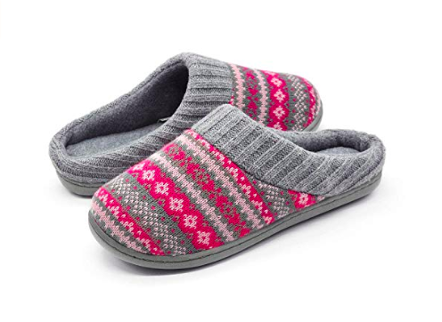photo of memory foam slippers