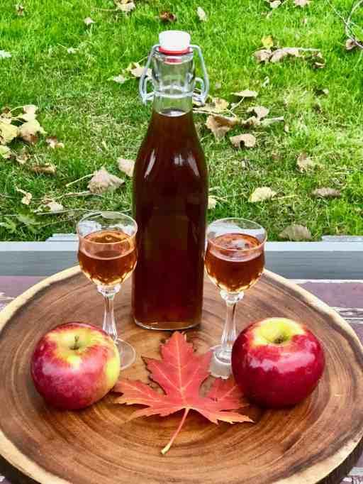 DIY Apple Spice Liqueur