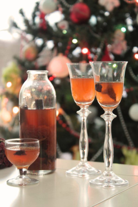DIY Winter Spice Liqueur