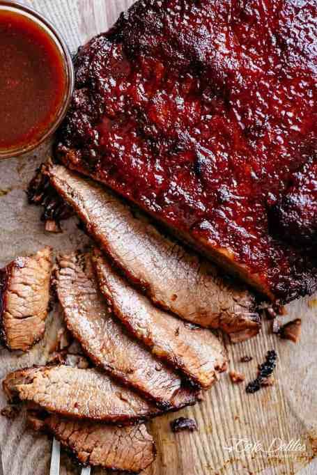 Juicy Slow Cooker Beef Brisket