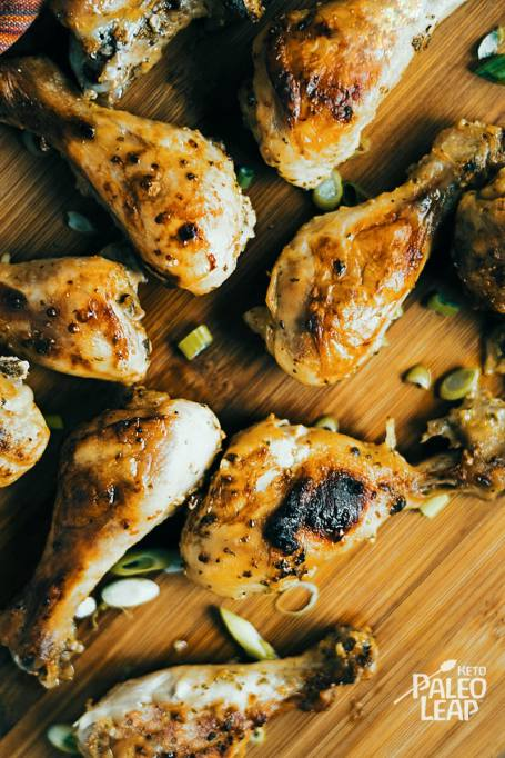 Keto & Paleo Garlic & Dijon Chicken Drumsticks