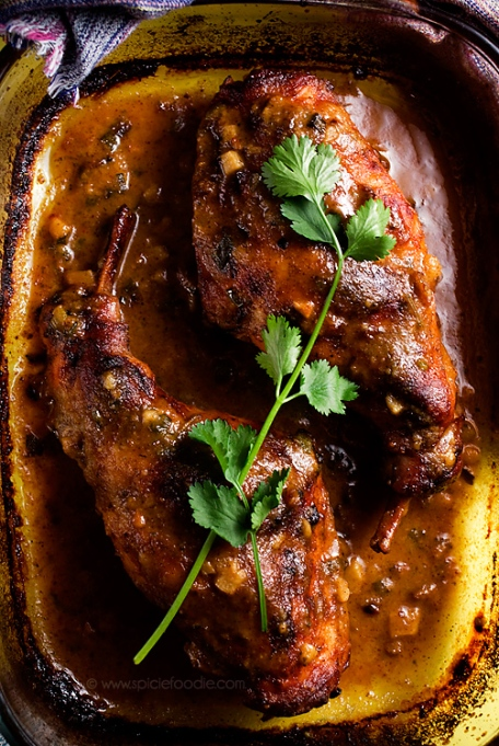Braised Honey Mustard Rabbit