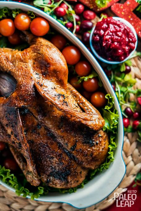 Paleo Roasted Duck With Herb Ghee