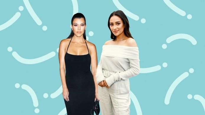 Kourtney Kardashian Shay Mitchell Celebrity shaming