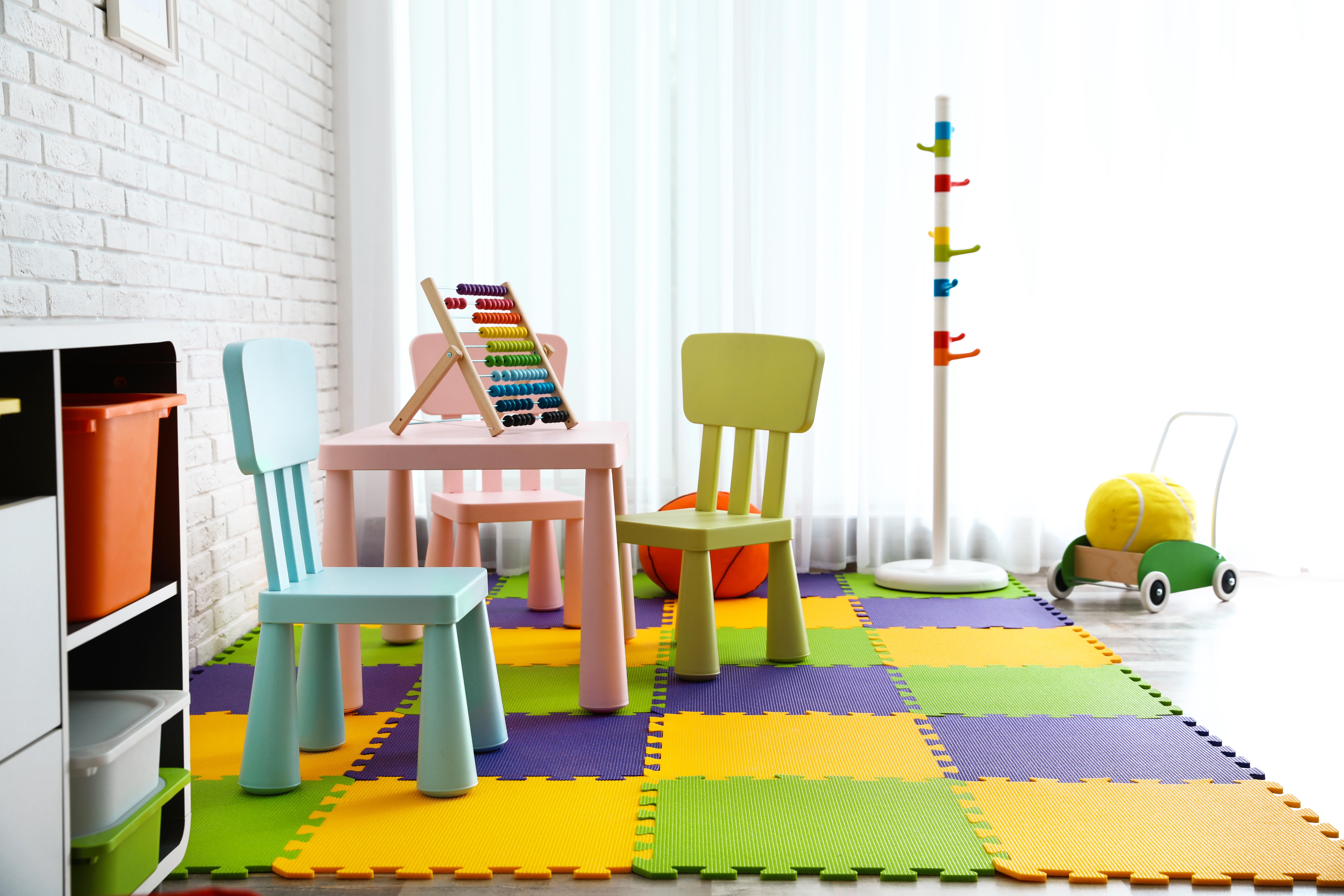 nursery safety toy storage