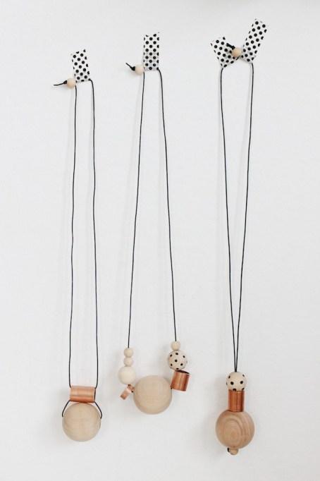 DIY Wood & Copper Necklaces