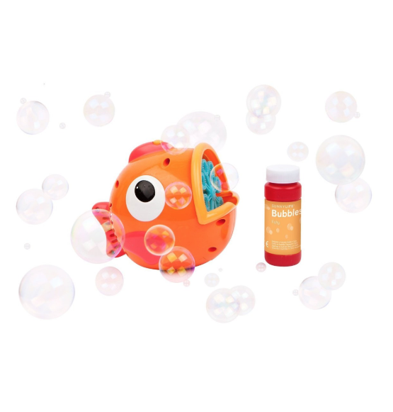 15 Toys Your Kids Need to Beat the Heat: Bubbles Fishy