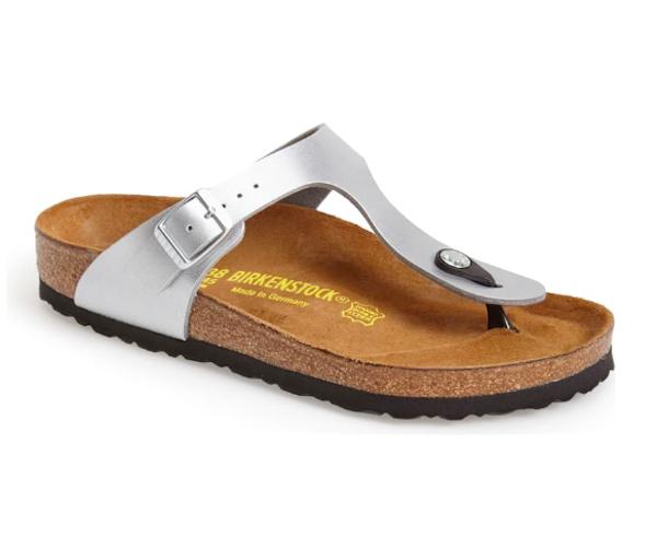 Best Summer Shoes & Sandals for Pregnant Women: Birkenstock Gizeh Birko-Flor Thong