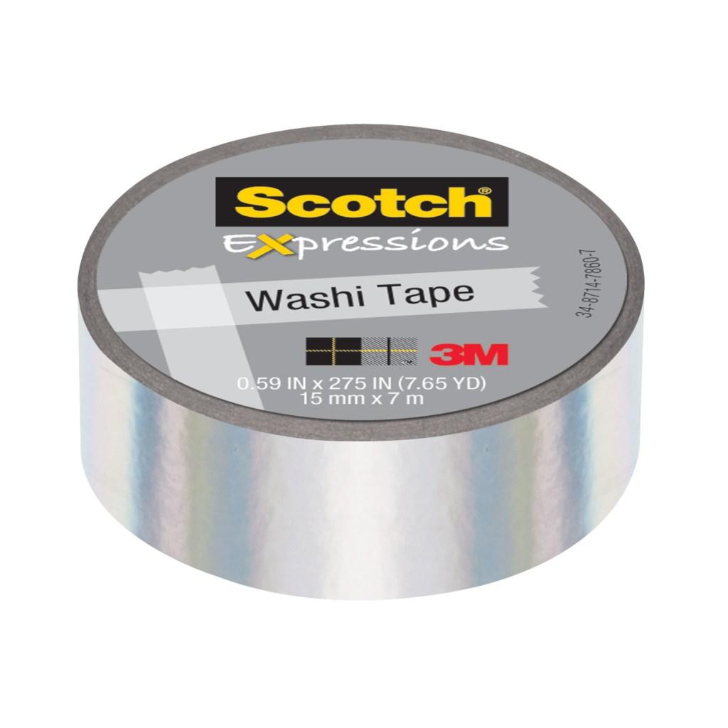 scotch 3m expressions iridescent washi tape