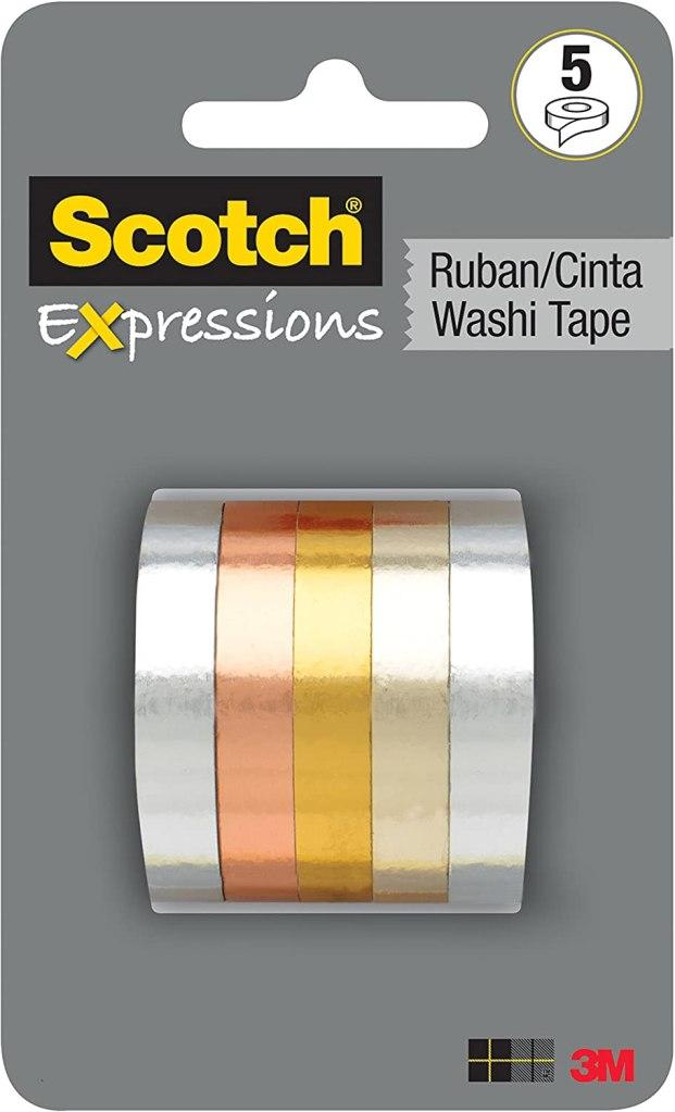 scotch expressions washi tape