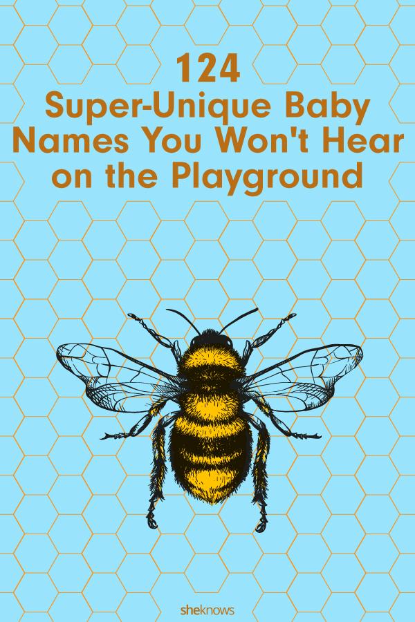 Super Unique Baby Names: Bee