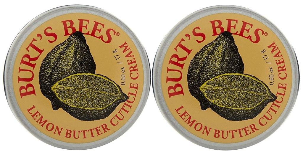 burts bees lemon butter cuticle cream