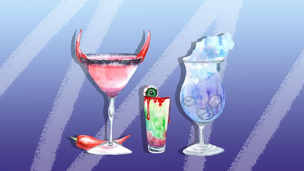 Halloween Cocktails & Mocktails for Your