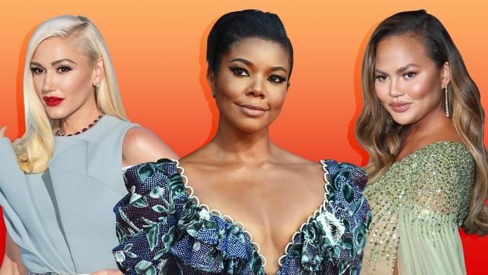 Celebrity fertility struggles: Gwen Stefani, Gabrielle