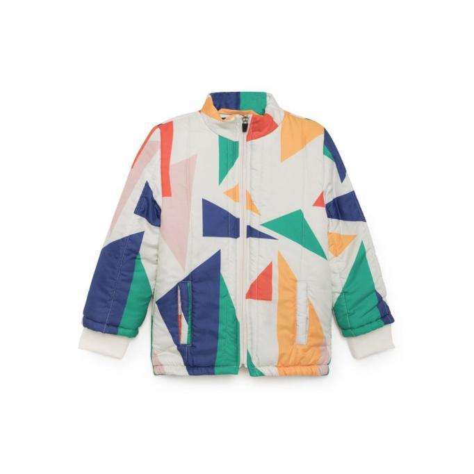 Bobo Choses geometric padded jacket