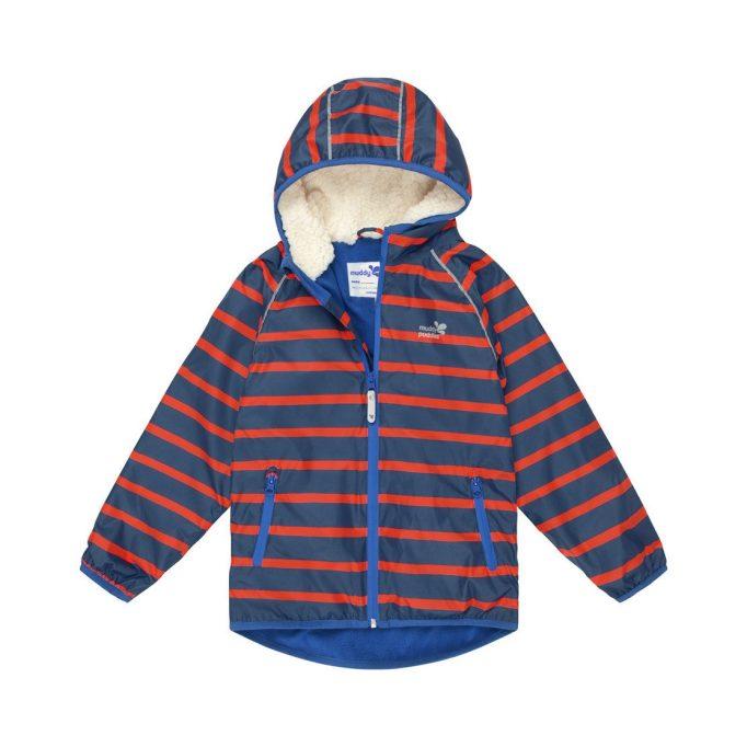 Muddy Puddles striped EcoSplash jacket