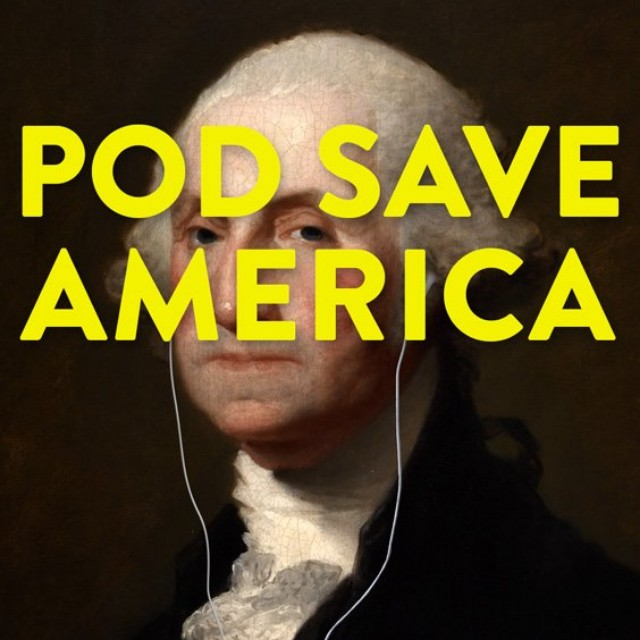 Best Podcasts for Holiday Road Trips: 'Pod Save America'