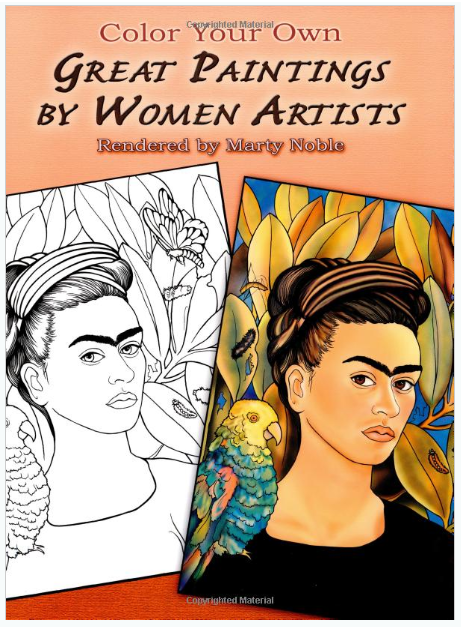 Great Paintings by Women Artists coloring book