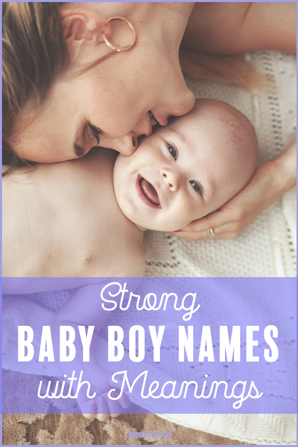 Boy Names With Meanings He Can Be Proud Of – SheKnows