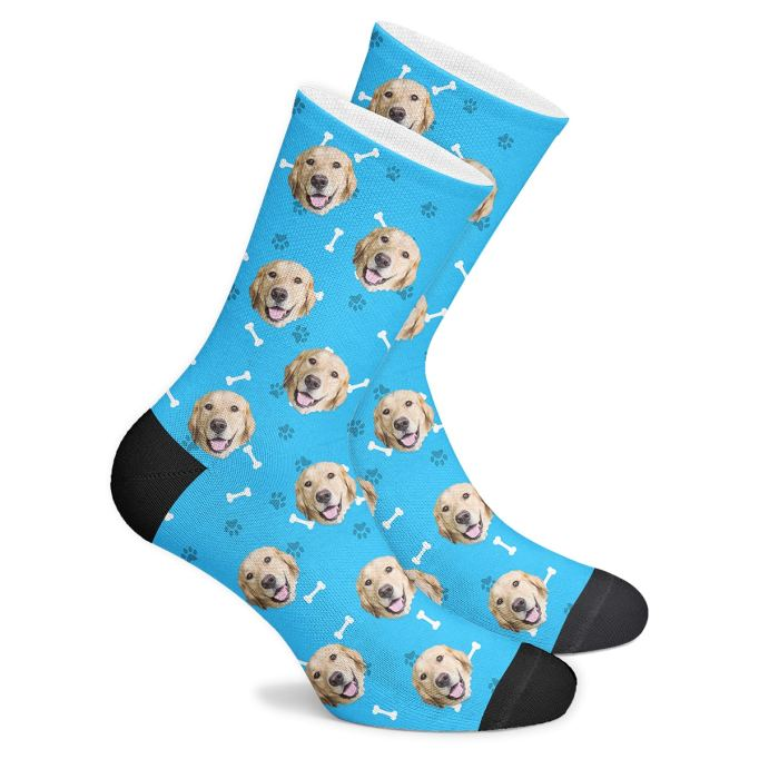 Custom socks with your dog's face PupSocks