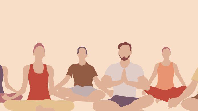 yoga poses when you're feeling sick