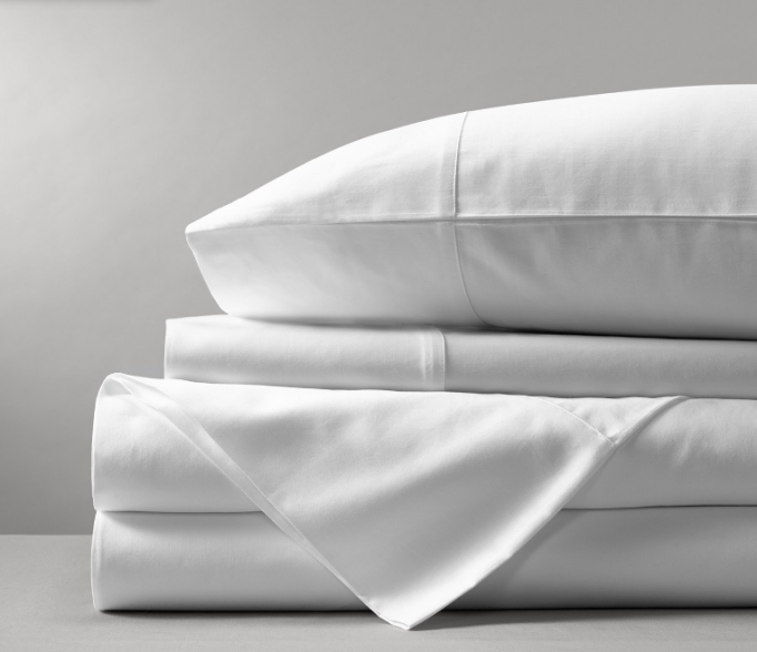 Percale Solid Sheet Set