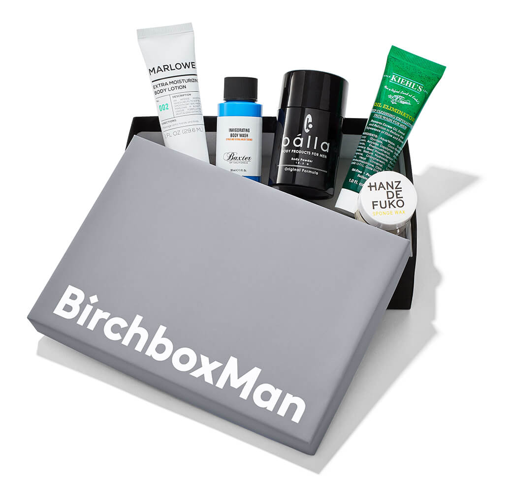 Last minute gifts for guys: A subscription box