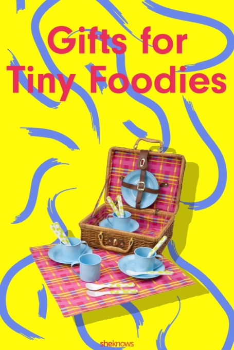 Pin it! Gifts for Tiny Foodies