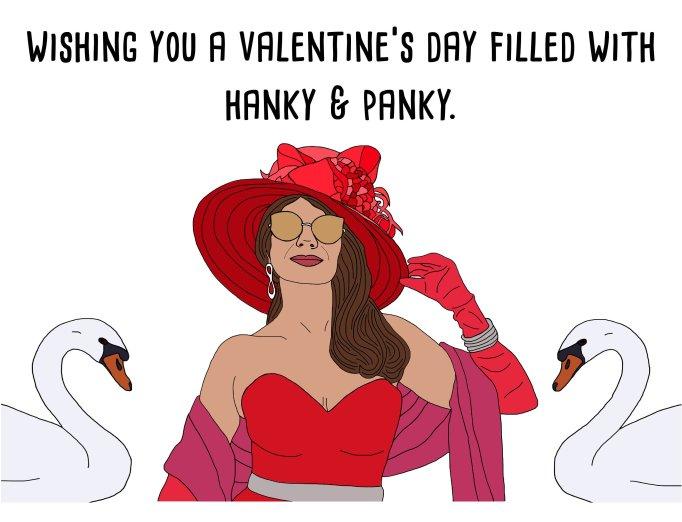 Lisa Vanderpump Valentine Day card
