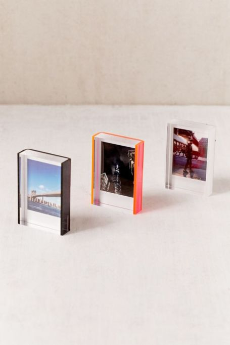 Mini Instax acrylic block frame