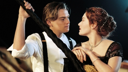 Still from 'Titanic' Kate Winslet Leonardo