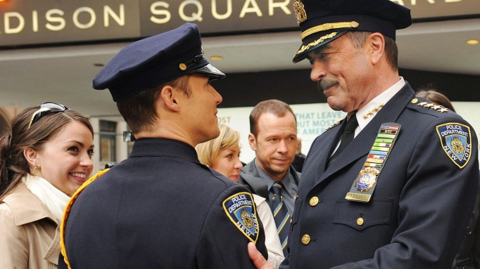 A scene from 'Blue Bloods'