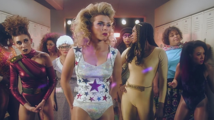 The Gorgeous Ladies of Wrestling in 'GLOW'