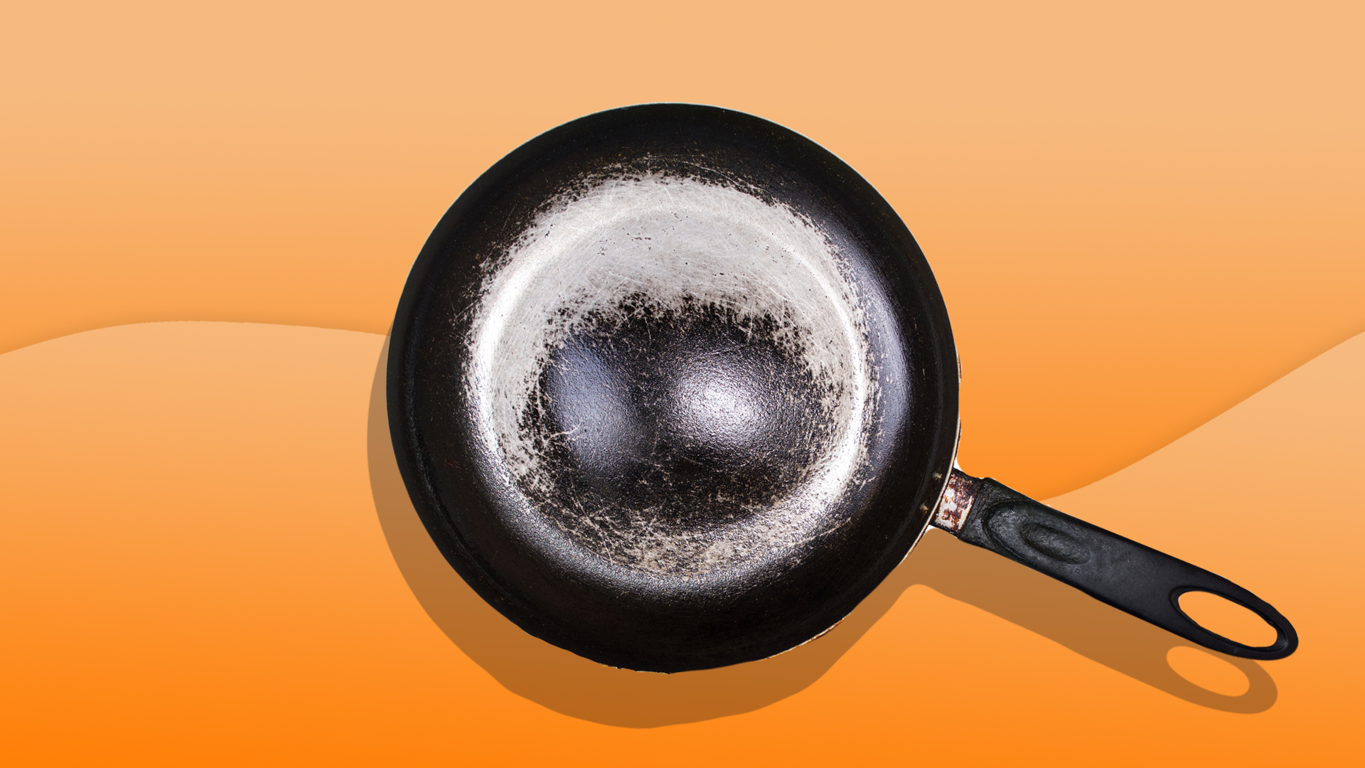 How to clean a burned stainless steel pot