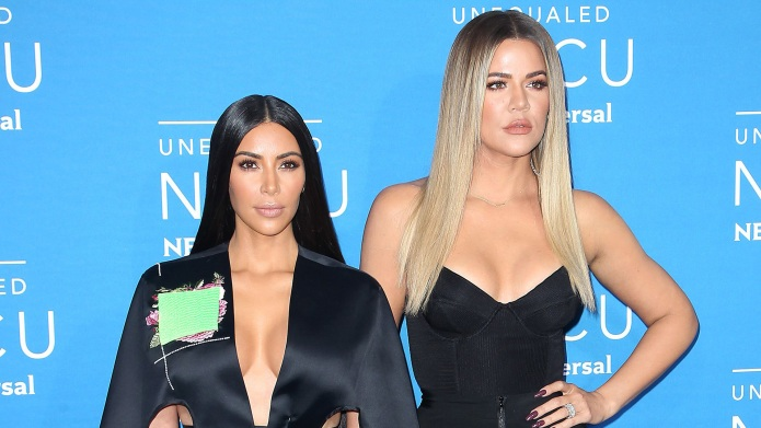 Kim Kardashian and Khloe KardashianNBC/Universal Upfront
