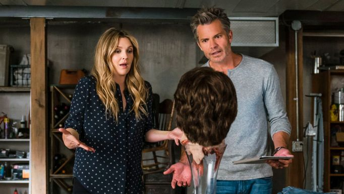 Drew Barrymore and Timothy Olyphant in 'The Santa Clarita Diet'