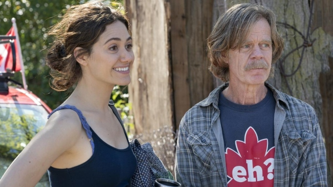 Emmy Rossum and William H. Macy in 'Shameless'