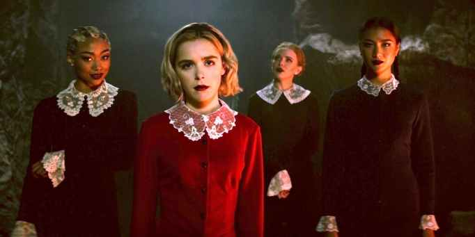 Keirnan Shipka in 'The Chilling Adventures of Sabrina'