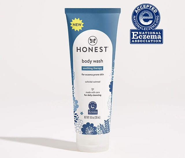Winter Skin Care Honest Eczema Body Wash