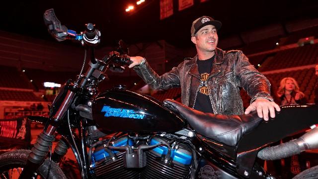 Taylor Kinney for Harley Davidson