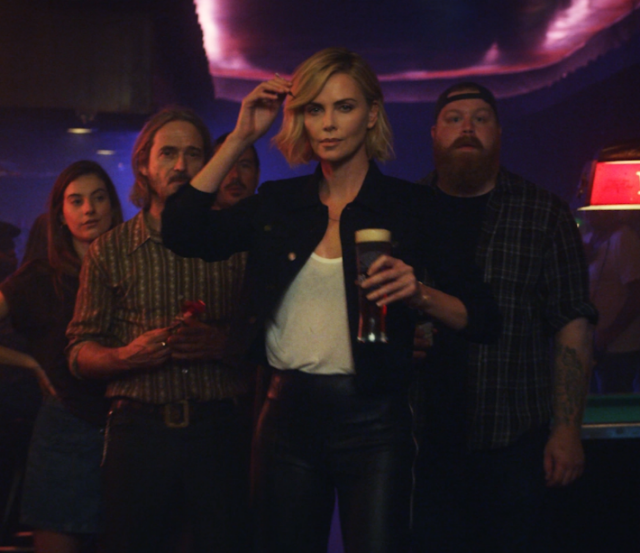 Charlize Theron for Budweiser